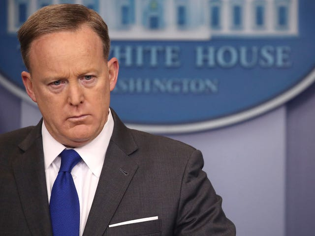 Are We Watching Sean 'Spicy Facts' Spicer's Final Days as Press Secretary?