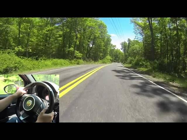 We drive Kanawauke road in New York, Harriman State Park!