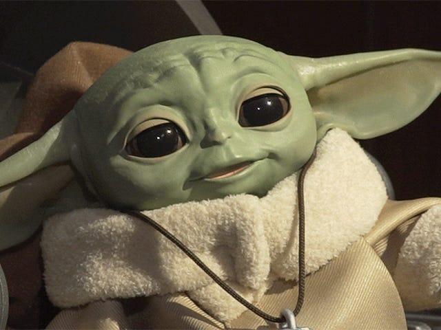 Hasbros Baby Yoda Animatronic är för söt och på något sätt bara $ 60