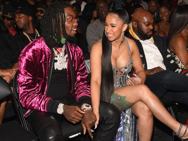 Cardi B Got Engaged Last Night In Front of 21,000 People