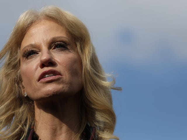 Kellyanne Conway Thinks Andrew McCabe Leaks Too Much