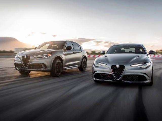 Ultra-Exclusive Alfa Romeo Giulia and Stelvio Quadrifoglio NRING Editions Already Mostly Sold Out in America (Updated)
