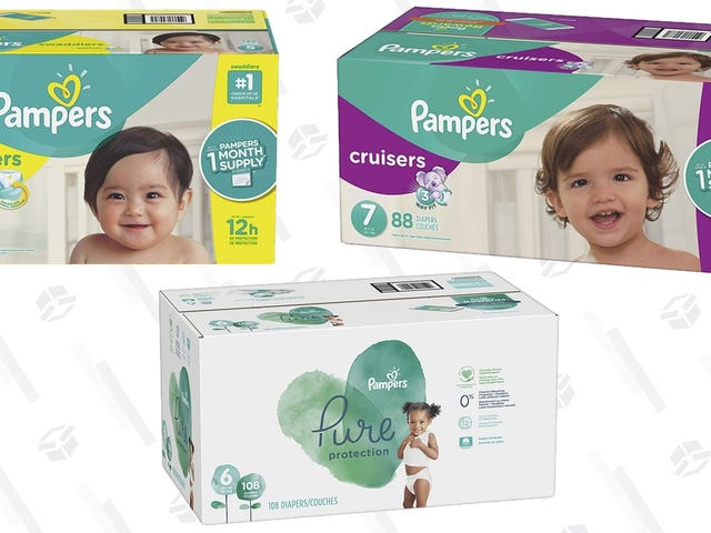 Amazon's Throwing Parents a Lifeline With This Pampers Coupon
