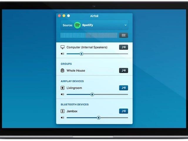 Airfoil 5, la aplicación AirPlay Audio Streaming, agrega soporte Bluetooth, grupos de altoparlantes y más