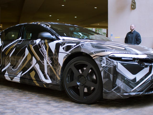 Rijden In De 1000 Horsepower Lucid Air Electric Ultra-Luxe Auto Was Ernstig Prachtig