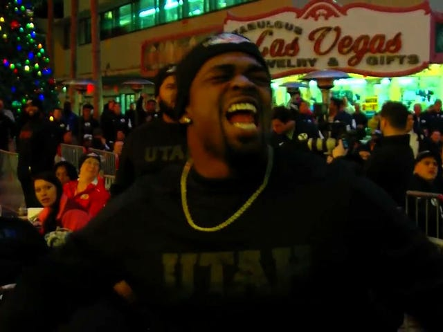 "Utah Lineman To BYU alla cena di benvenuto di Las Vegas Bowl: ""You're A Dirty Team"""