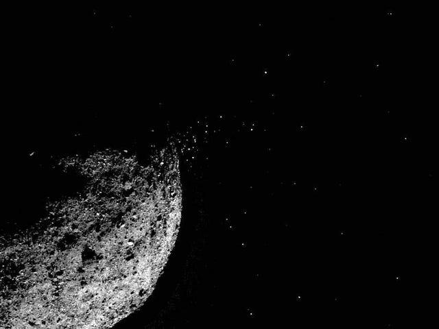 Los análisis de Bennu confirman que escupe pequeñas nubes de polvo, algo nunca visto antes en un asteroide