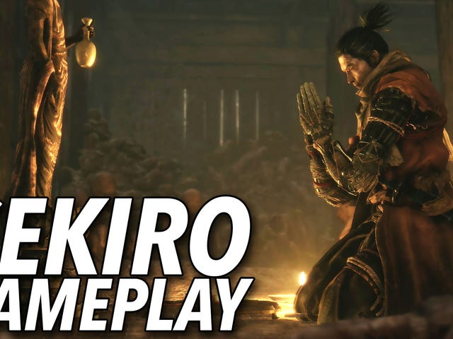 Sekiro: Shadows Die Twice, Hands-On
