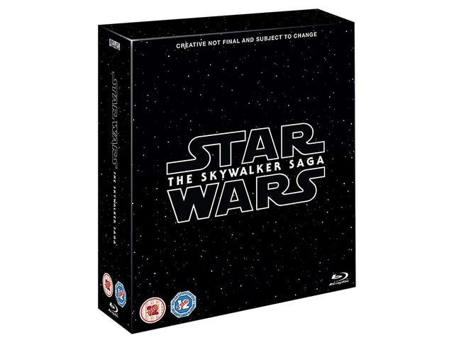Ang kumpletong saga Skywalker ay darating sa 2020 na may isang espesyal na edisyon ng 27 Blu-Ray 4K disc