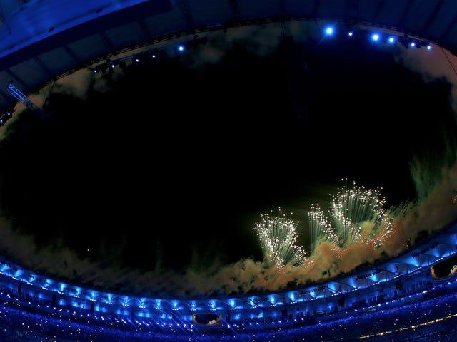 Dun Dun Dun Dun Dun: Es ist die Eröffnungszeremonie der Olympischen Spiele von Rio 2016