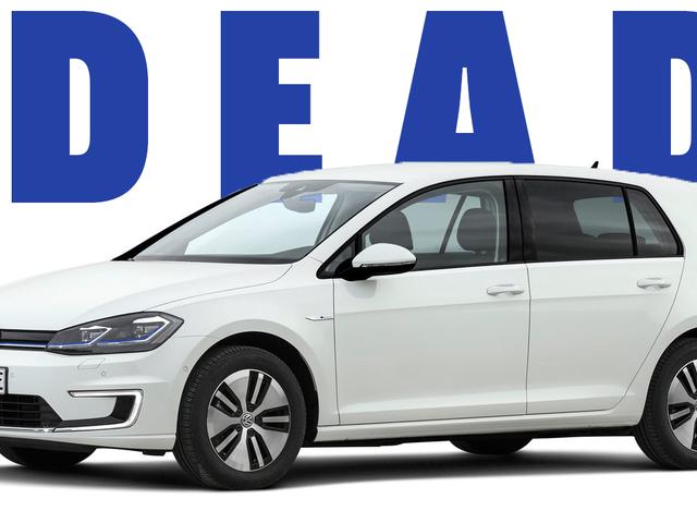 डेड: 2020 VW ई-गोल्फ