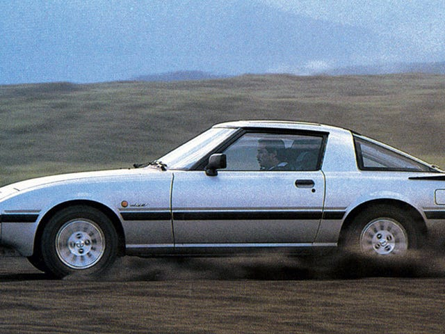This is a Mazda RX-7