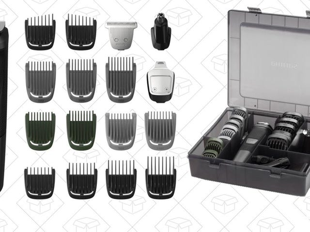Groom All Of Your Hairs With This Extensive Philips Multigroom Kit, Just $30 Today