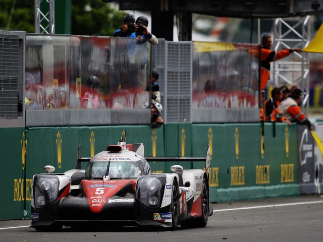 Why The Car With As Many Laps As The Winner Didn't Get Second Place At Le Mans
