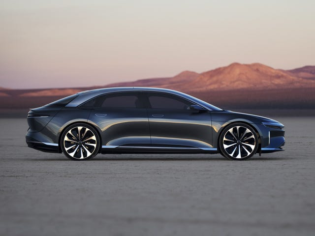 Lucid Motors Confirms $1 Billion Investment from Saudis, Plans First Electric Car for 2020
