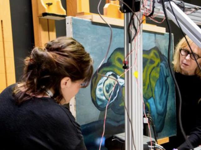 Wissenschaft enthüllt versteckte Geheimnisse in Picasso Works