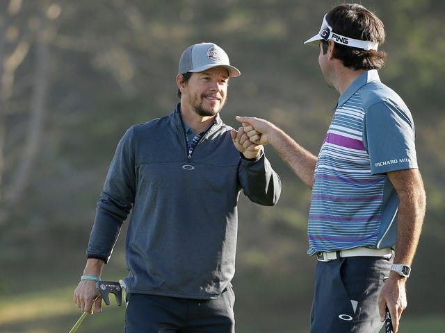 Mark Wahlberg From Ted 2 Misses A Hole-In-One At Pebble Beach By Inches