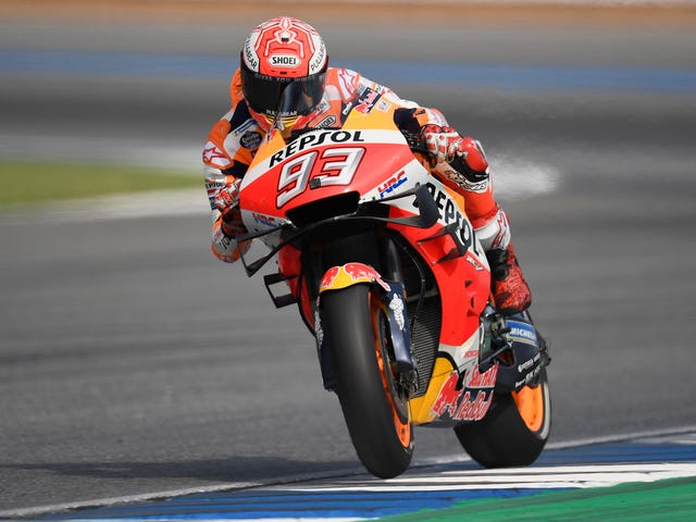 MotoGP Rider Marc Marquez Miraculously Unhurt After Terrifying Crash