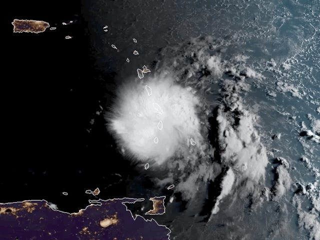 Tropical Storm Dorian Could Pose the First Cyclone Threat to Puerto Rico Since Maria