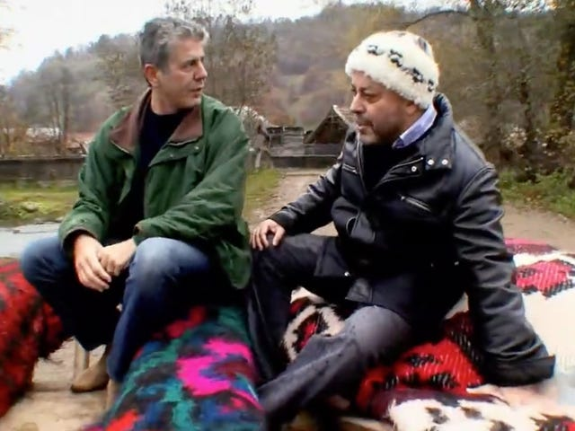 Let's Revisit Anthony Bourdain's Hilariously Disastrous Trip To Romania