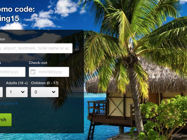 Save 15% On Your Next Hotel Stay Almost Anywhere In The World
