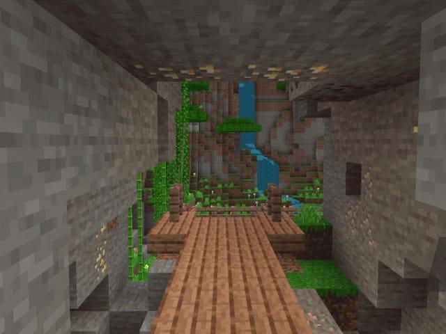 Après tout, Minecraft aura des graphismes améliorés ... mais uniquement sur PC