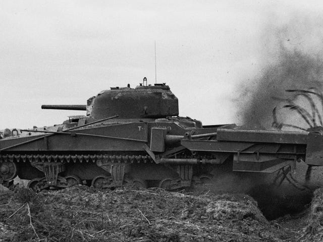 The 'Funnies' Were The Wildly Modified Tanks That Protected The Allies on D-Day