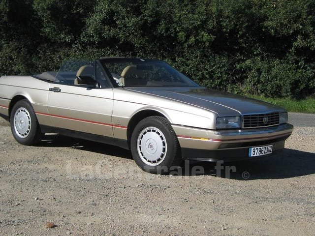 Fuck everything! Here's a Cadillac Allante.