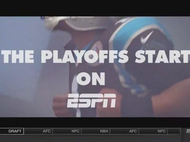 "ESPN NFL Playoffs ""Run The Jewels"" Promo Alle taler om"