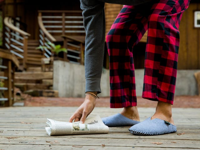 Get 15% Off Select Cozy Fleece-Lined Slippers From Woolrich ($28)