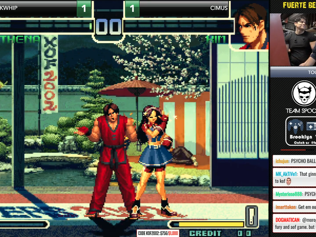 King of Fighters Match Comes Down To The Last Second