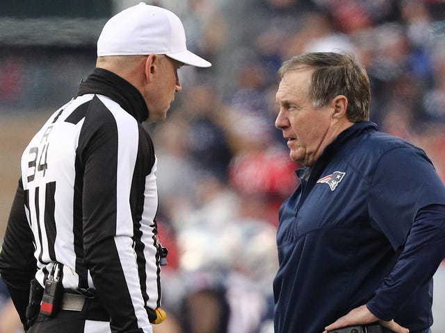 Lean Into The Patriots Conspiracy Theory