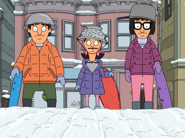 Bob's Burgers doesn't let Christmas get in the way of snowball warfare