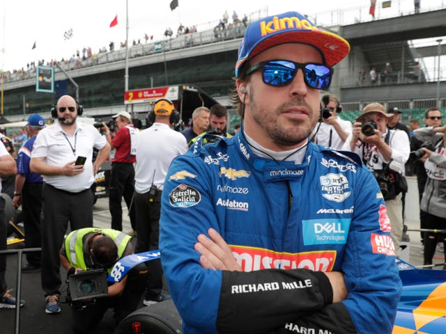 Fernando Alonso no correrá IndyCar a tiempo completo el próximo año