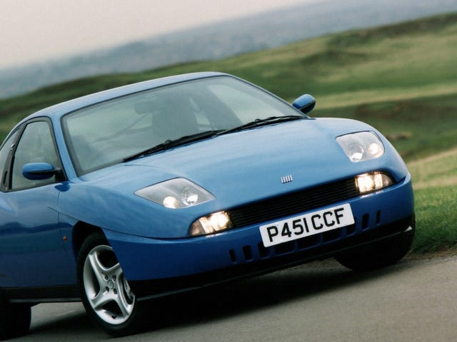 Here's to the forgotten Fiat Coupe 20V Turbo