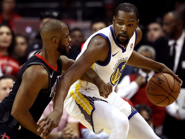 The Rockets Have Nothing For Kevin Durant