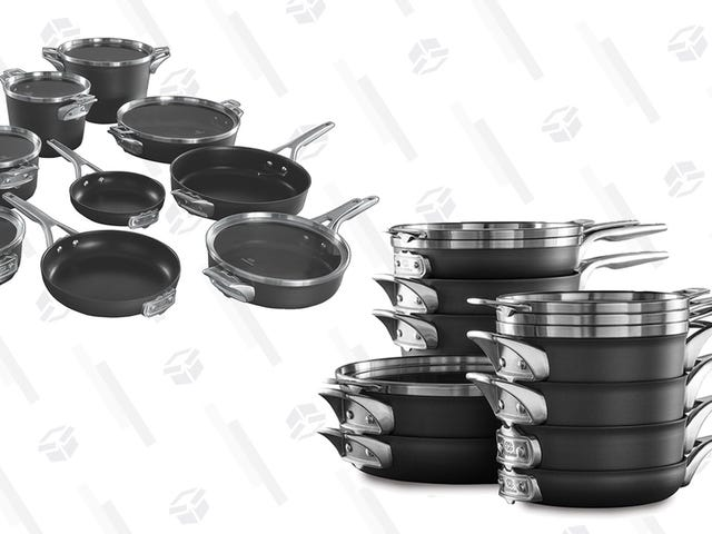 This Discounted Calphalon Cookware Set Is Made For Small Kitchens