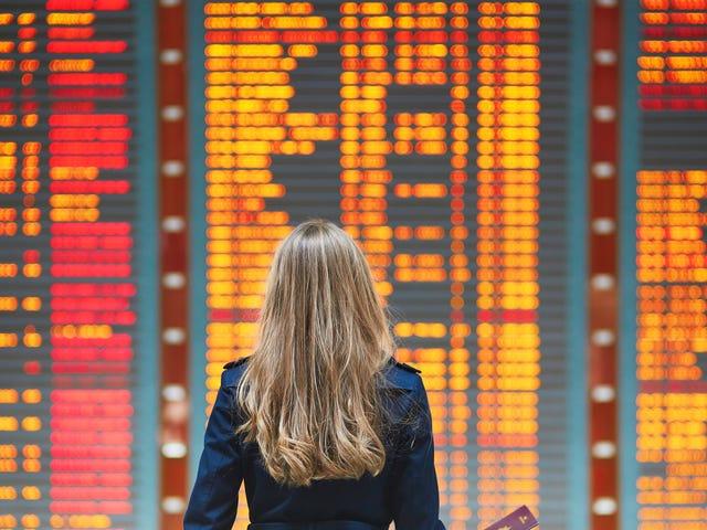 Zobacz, jak długo Twój świąteczny lot będzie opóźniony na tych lotniskach w USA