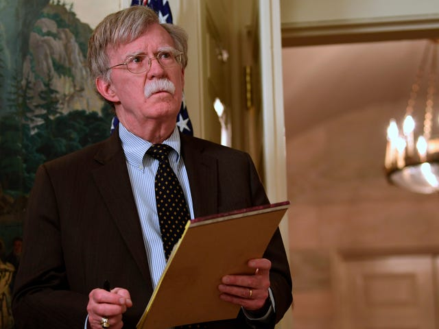 Report: John Bolton Thinks the Cyber Is Namby-Pamby Nerd Stuff, Except Maybe the Military Cyber