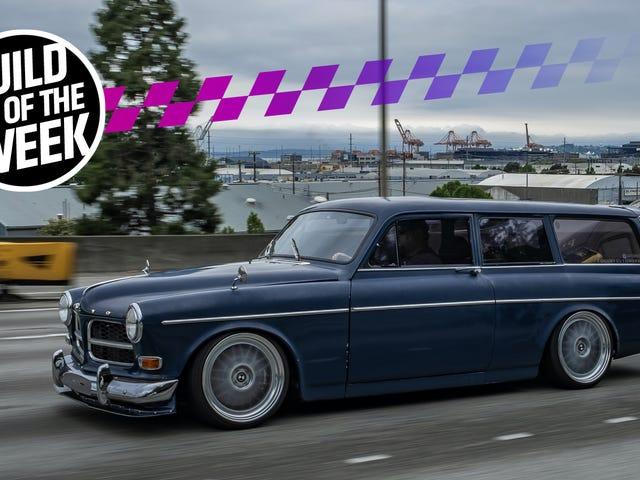 True Hero trocou um Volvo Volvo Wagon Body por um BMW E30 em sua garagem