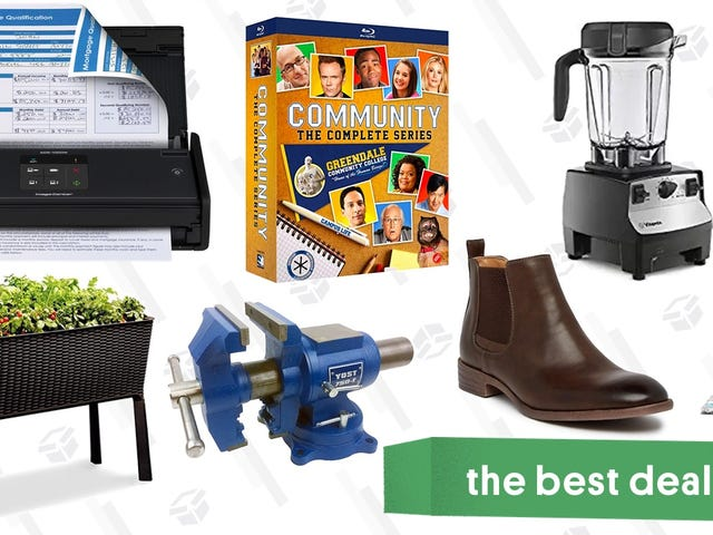 Sunday's Best Deals: Brother Scanner, Vitamix Blender, Clear the Rack, and More