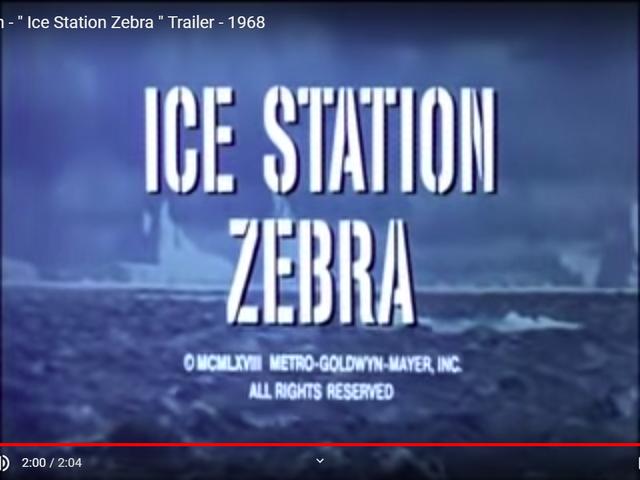 Ice Station Zebra (1968)