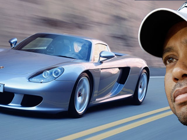 The Porsche Carrera GT Was Too Much Car For Tiger Woods