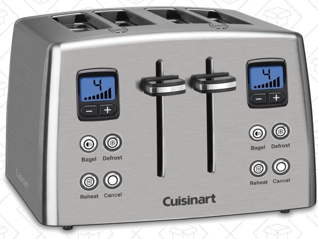 This Cuisinart Toaster Has All the Bells and Whistles