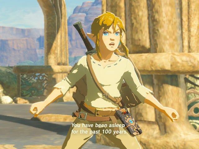 <i>Breath of the Wild</i> komt niet overal op de <i>Zelda</i> Tijdlijn