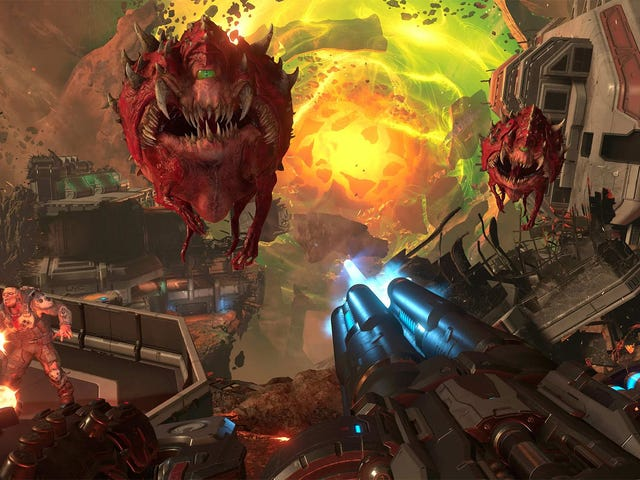 Testing Doom Eternal On Low-End Graphics Cards
