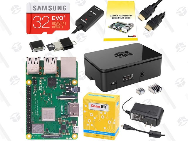 Get Your Favorite Tinkerer a Raspberry Pi Kit From This One-Day Sale