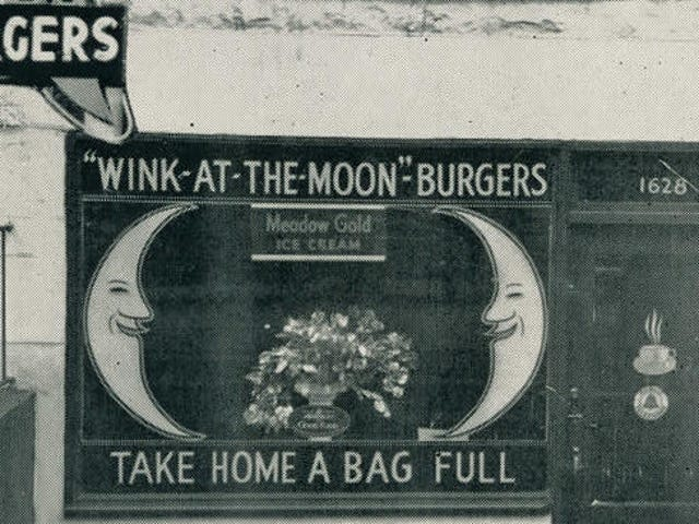 Sandwich del día: hamburguesas Wink-At-The-Moon