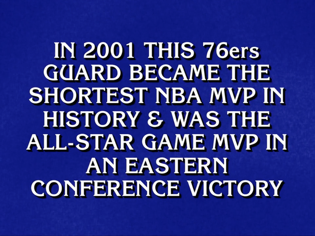 Have Any Of These Dang Jeopardy! Nerds Watched A Single Game Of Basketball?