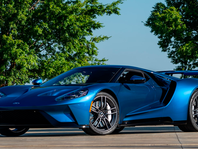John Cena's Ford GT Was Listed for Auction Yet Again, Then Taken Down